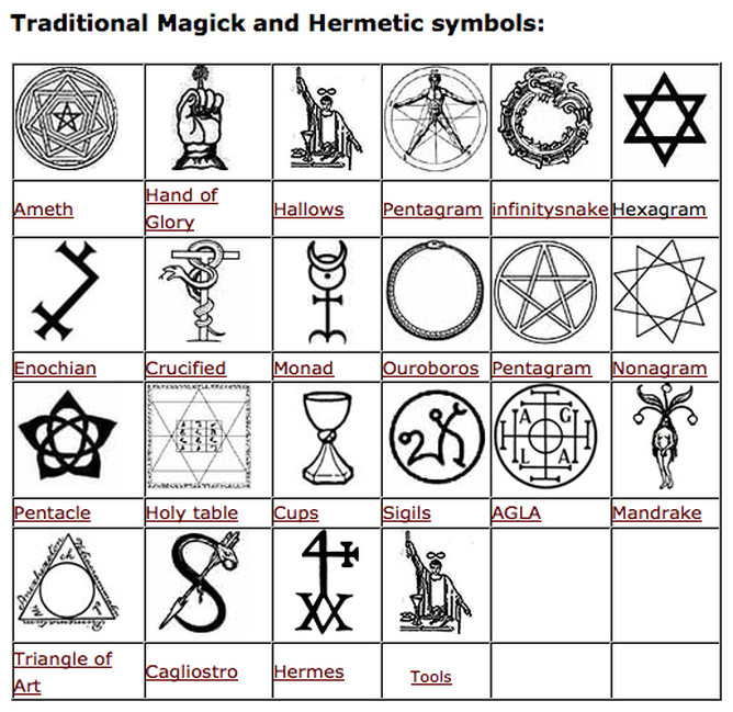 Satanic Signs And Their Meanings